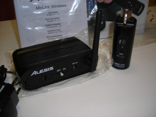 Alesis wireless Mic link