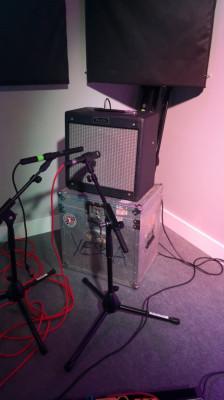 Amplificador Fender Pro Junior + Flightcase