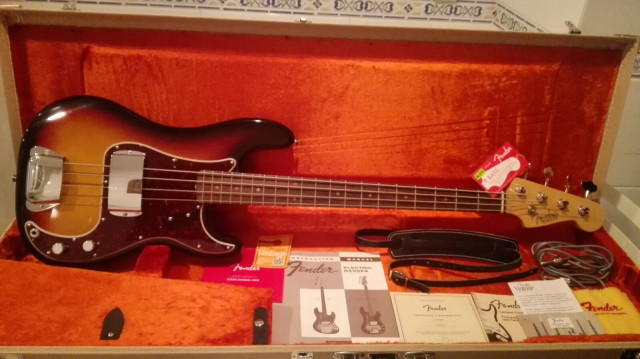 Fender american vintage 63 Precision
