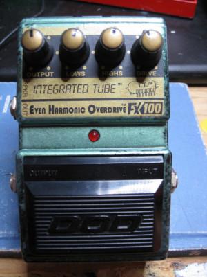 DOD FX100 Even Harmonic Overdrive USA