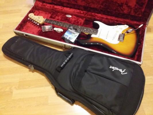 Fender Stratocaster American Standard 60 Anniversary + Extras