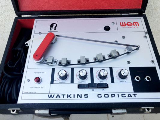 Watkins Copicat MK4 - Analog Tape Echo - 70's UK