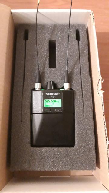 Shure P10R diversity receiver IEM
