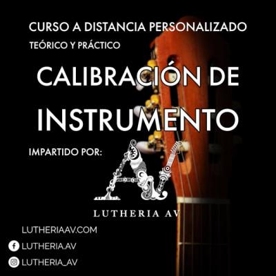 Curso intensivo online personalizado de calibración completa para instrumentos acústicos y eléctricos