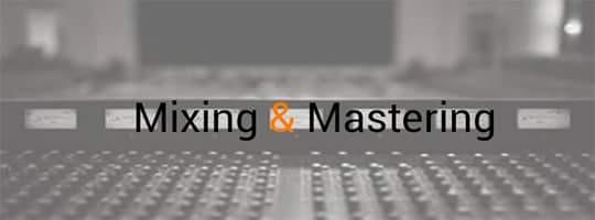 Servicios de mezcla y mastering
