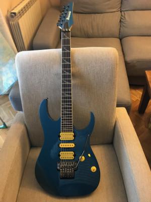 Ibanez RG Prestige 3570z LazerBlue. Japón.