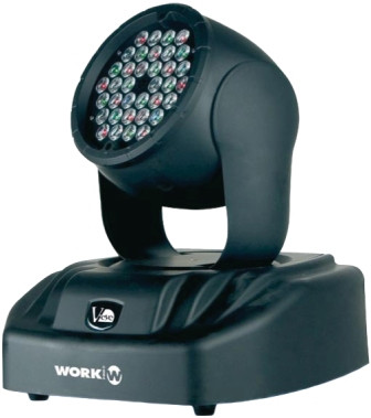 WORK V-EYE LED WASH– CABEZA MOVIL