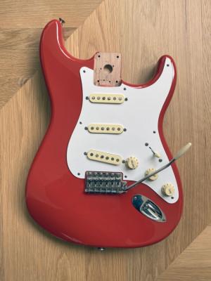 Cuerpo Fender Stratocaster Classic Player 50s Fiesta Red