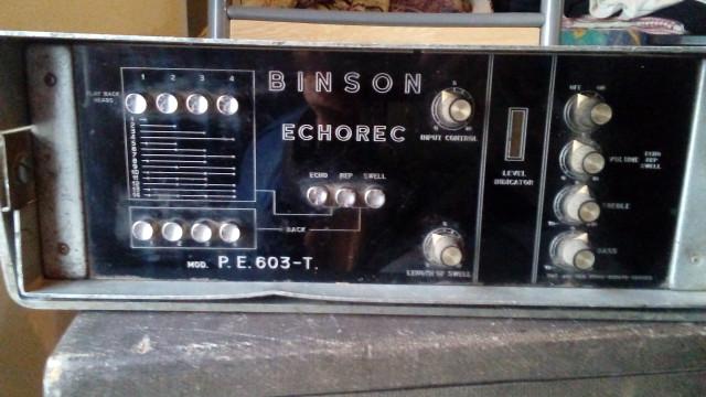 Eco binson echorec PE 603