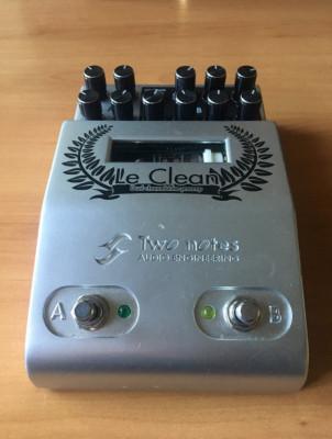 Previo válvulas guitarra Two Notes Le clean