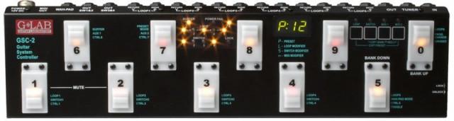 G-LAB GSC-2 PEDALERA MIDI LOOPER