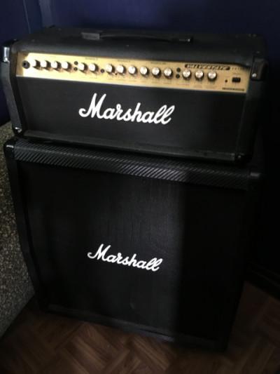 Cabezal Marshall Valvestate VS100 + pantalla