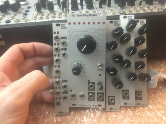 Turing Machine mk2 con expanders