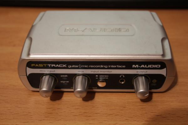 Tarjeta de sonido Fast Track M-audio