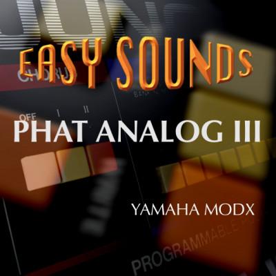 Phat Analog III para Yamaha Motif XS, Motif XF, Moxf, Montage y Modx