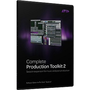 AVID Pro Tools Complete Production Toolkit 2