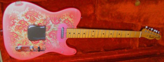 Fender Telecaster JV Pink Paisley