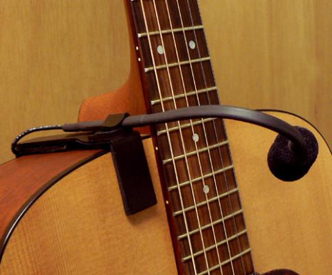 Micrófono marca K&K para guitarras acústica u otros
