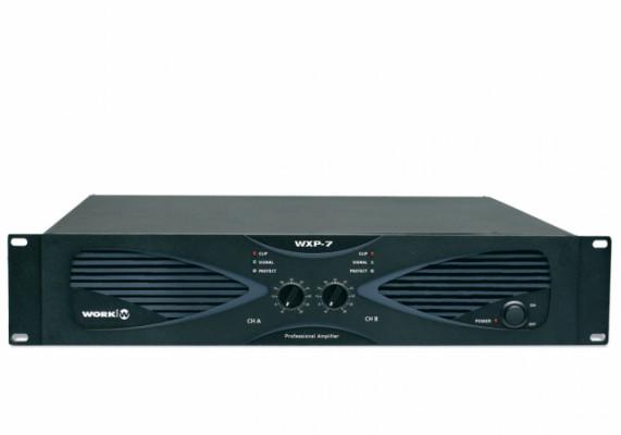 Etapa WORK WXP-7 Amplificador 2 x 1000 W