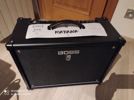 Boss Katana 100;MKII + Pedal GA-FC
