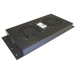 -Panel de Ventilación 300 m3/h con Termostato para Rack & Server Rack
