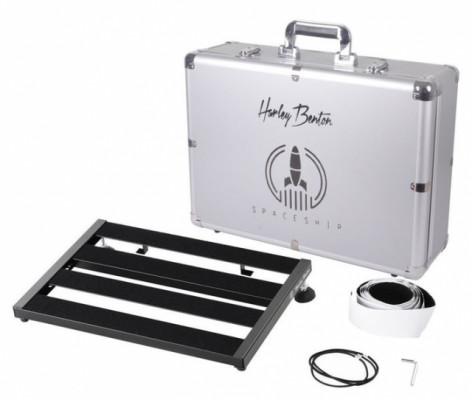 Pedalboard Harley Benton SpaceShip 40 w/Hardcase (envío incluido)