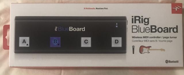 Controlador MIDI bluetooth