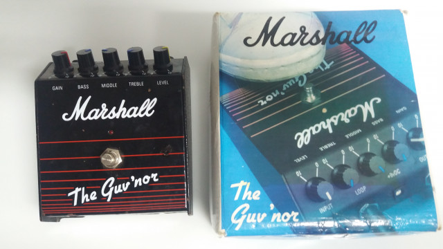 Pedales Marshall guv'nor con caja