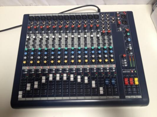 OFERTA! Mesa Soundcraft MPMI 12  impecable mpmi 12