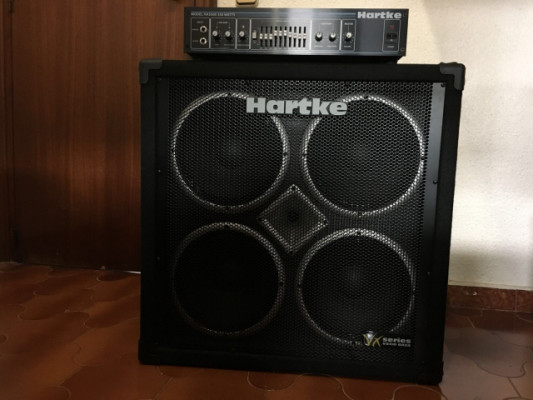 REBAJA TEMPORAL!!!Cabezal Hartke 3500 y pantalla Hartke vx410