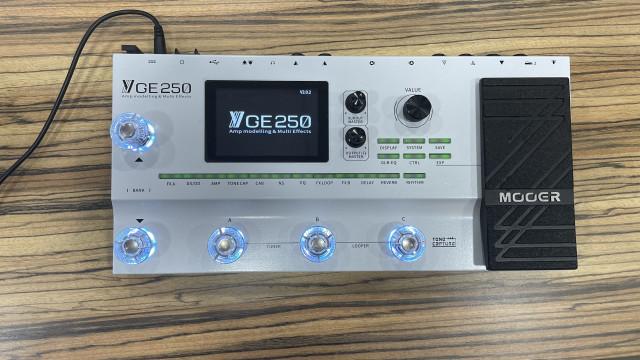 Mooer GE 250 estado impecable, envío incluído.