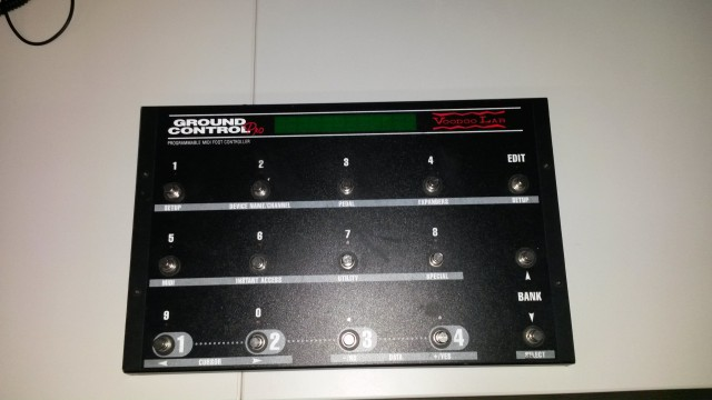 VODOO LAB GROUND CONTROL Pedalera MIDI