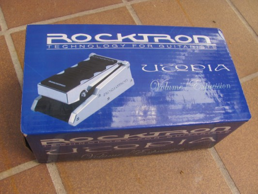 Rocktron Utopia Volume / expression