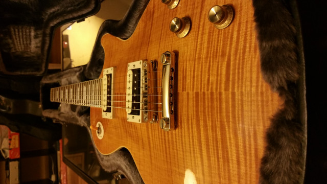 Vendo Cambio Epiphone slash custom shop