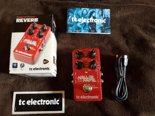 Reverb Hall of fame tc electronic
