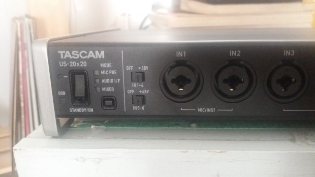 Tascam US20x20 Usb