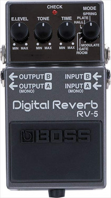 Reverb Boss RV5 envio incluido