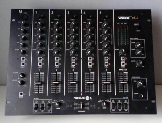 mixer nexus cinco canales 10k