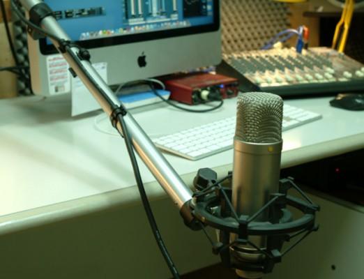 Brazo Manfrotto 098SH para micrófono