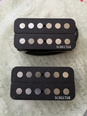 Set Pastillas Schecter SuperRock-II