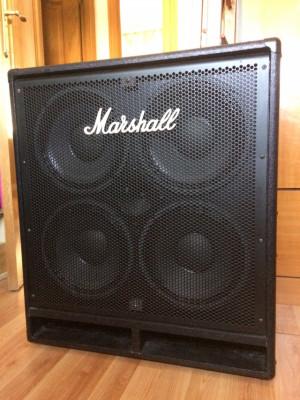 Marshall MBC410 pantalla de bajo
