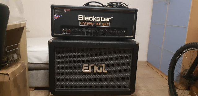Blackstar HT Stage Venue Head 100 + ENGL VH Pro