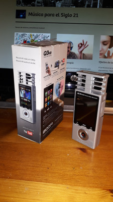 Grabadora Stereo ZOOM Q3HD