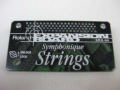 vendo expansion Roland srx-o4 symphonic strings porte incluido