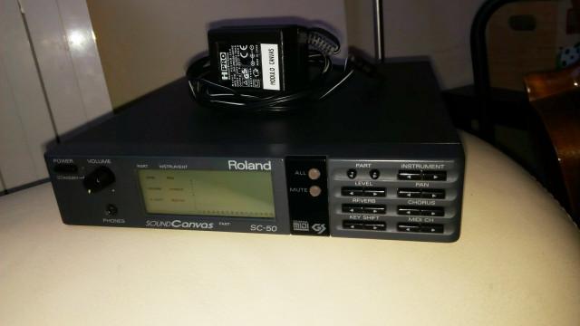 Módulo ROLAND Sound Canvas SC50