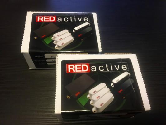 2 Pastillas activas GFS RED ACTIVE para Strat