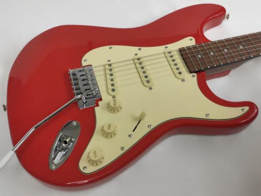 Guitarra Aria Pro II FS Series 1975-1988 Japan Hot Rod Red