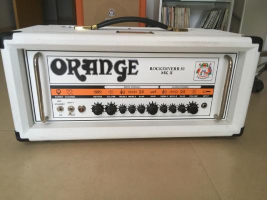 O cambio Orange rockerverb