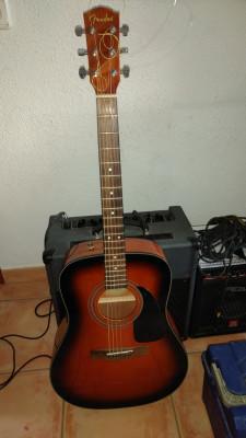O cambio Acústica Fender CD60 SB