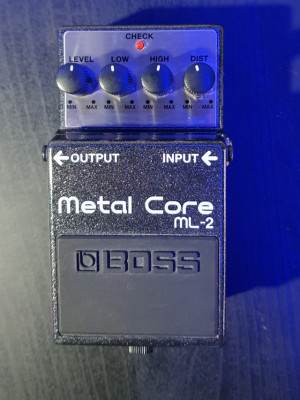 BOSS Metal Core ML2